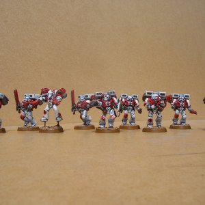 White Scars Space Marine Assault Squad