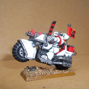 White Scars Space Marine Bike Squadron