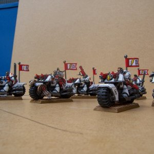 White Scars Space Marine Scout Bike Squadron
