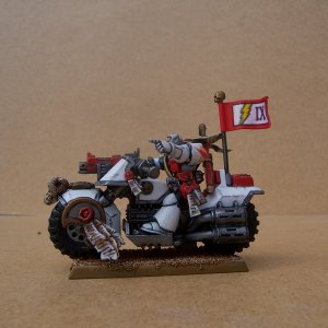 White Scars Space Marine Scout Bike Squadron (Sergeant)