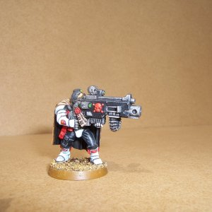 White Scars Space Marine Scout Squad (Heavy Bolter)
