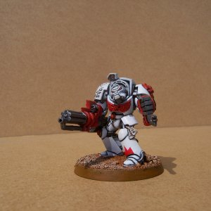 White Scars Space Marine Terminator Squad (Assault Cannon)