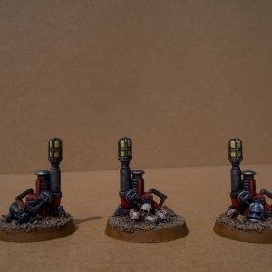 White Scars Space Marine Terminator Squad (Teleport Homer)