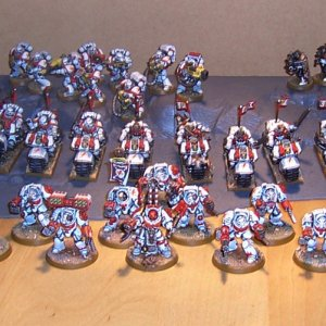 White Scars Space Marine Army