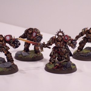 Grandmaster Kurtz and Retinue