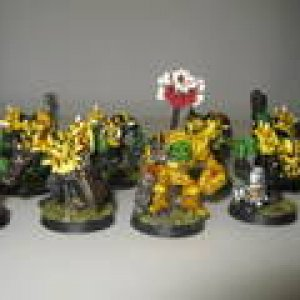 Ork Ard boyz- close up