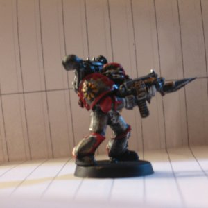 Chaos space marine- Profile