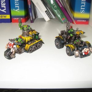 Warbuggies with rokkits