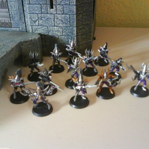 Dark Eldar Warrior squad