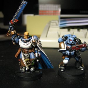 Space Marine and Templar