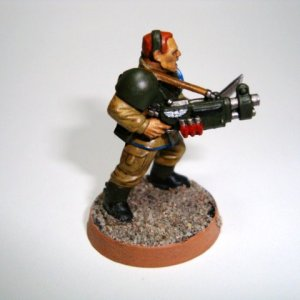 Veteran Sergeant With Shotgun