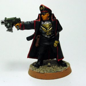 Commissar in Black