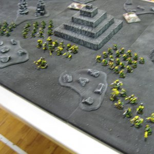 Vashtek's army for X legion Tactica Doubles