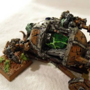 Skaven Warp-Lightning Cannon Detail
