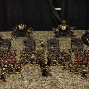 Black Legion prepaired for battle