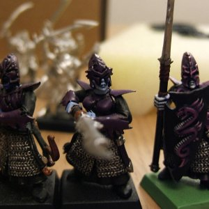 Painting Warriors - a Progression