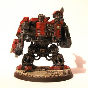 Blood Angels Dreadnought Back