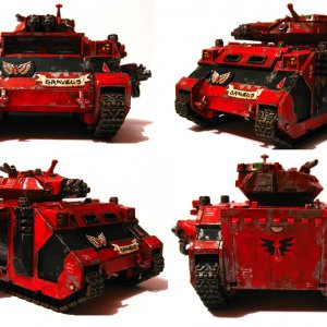 Blood Angels BAAL Predator THEME