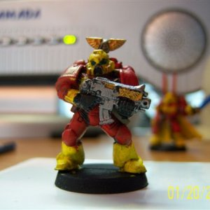 Fire Lords Tactical Squad Orpheus Marine 1