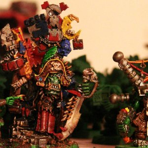 Captin Baruk and Big mek