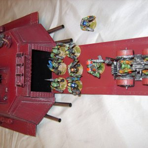 ORK APPOCALYPSE MEGA BATTLE WAGON CLOSE UPS
