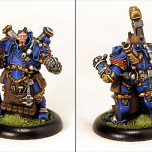 Warmachine: Captain Strangeways