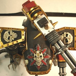40K Chaos Reaver Deathlasher top view