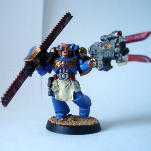 Rexus Kato Sarans-Chapter master of the Fists of Guilliman