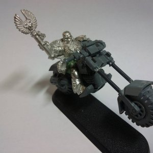Chaplain on Bike