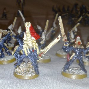 Karandras, Striking Scorpions and Exarch
