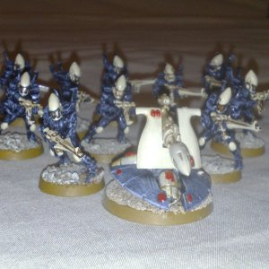Eldar Guardians with Eldar Missile Launcher