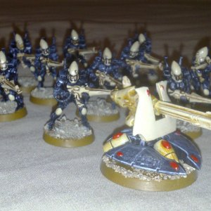 Eldar Guardians with Scatter Laser