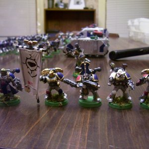 Sons of the Firemind Command Squad