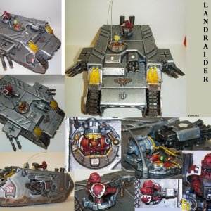 scratchbuilt Land Raider