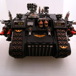 Landraider of The Legion of Woog