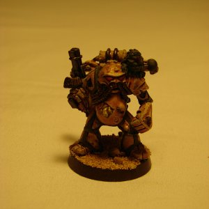 Death Guard Chaos Space Marine - Classic Rogue Trader