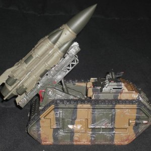 Tacasa Imperial Guard Deathstrike Missile Launcher