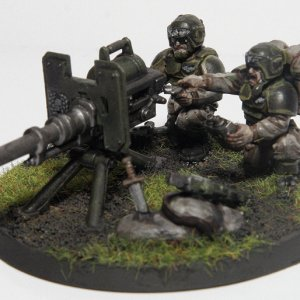 Imperial Guard Heavy Weapons Team